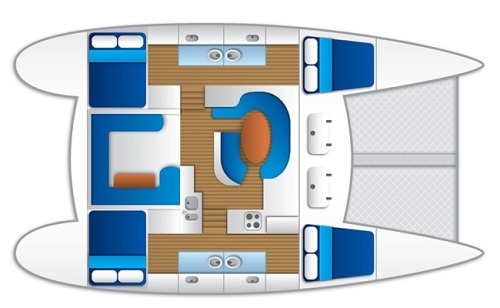 Whitsunday Blue Floor Plan