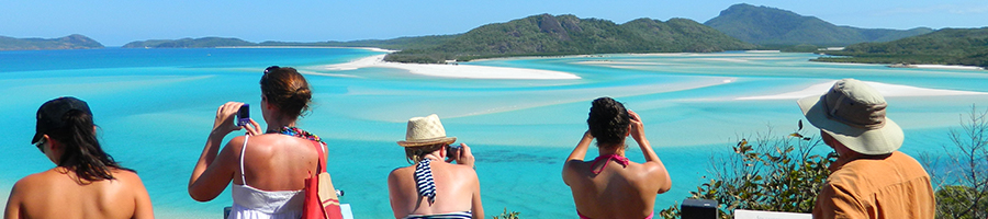 Whitehaven, Hill Inlet, Lookout, Whitsundays