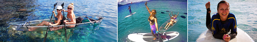 Paddling around the Whitsundays!