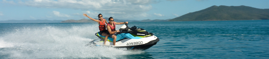jetkski tour, whitsundays