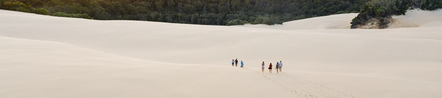 Lake Wabby, Fraser Island, Palace Adventures