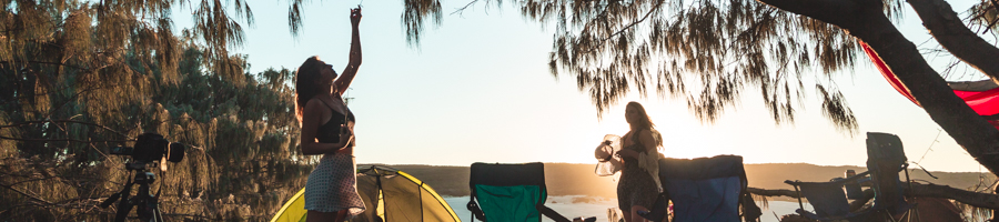 Camping on Fraser Island, Palace Tours