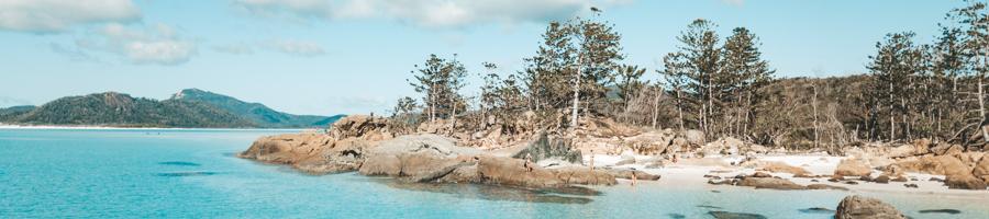 Betty's Beach, Sailing Whitsundays