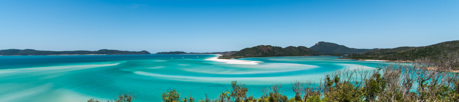 Hill Inlet, Swirling sands, Whitehaven Beach