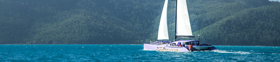 Camira Sailing Whitsundays, Full Sail