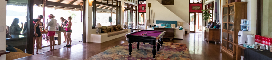 Paradise Resort, Pool Table, Main House