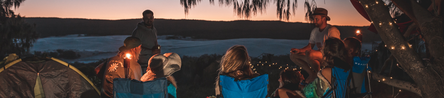 camping, fraser island