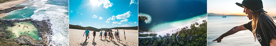 Fraser Island and Whitsundays Combo - Dropbear Fraser Island Highlights