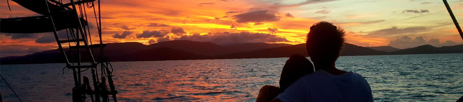 Sunset Sail on Providence V, Whitsundays