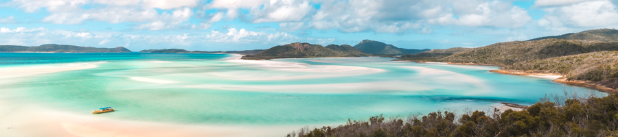 whitehaven beach, hill inlet lookout