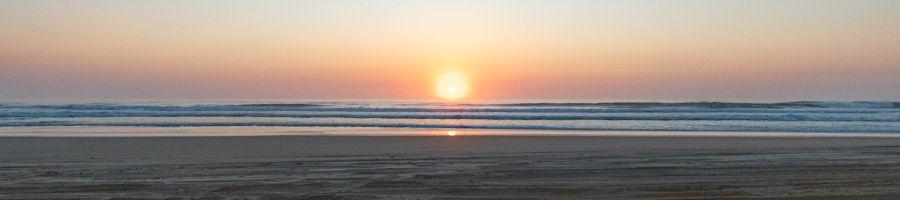 sunrise, fraser island
