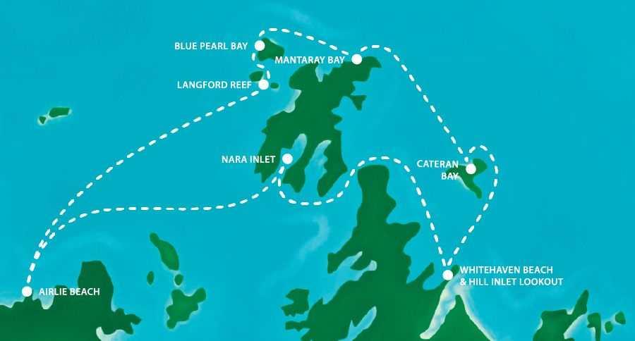 Sample Itinerary Map