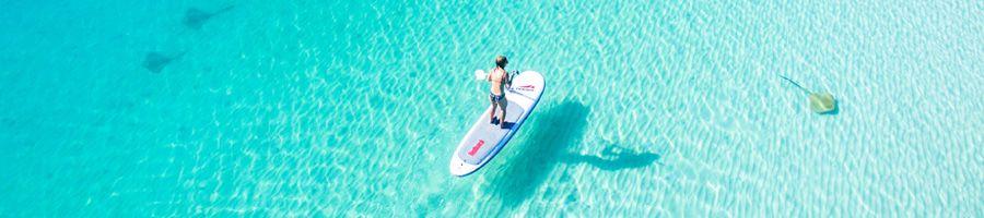 paddleboarding, whitsunday getaway