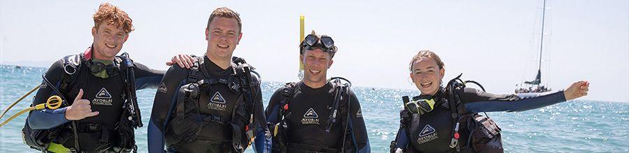 Scuba dive with apollo