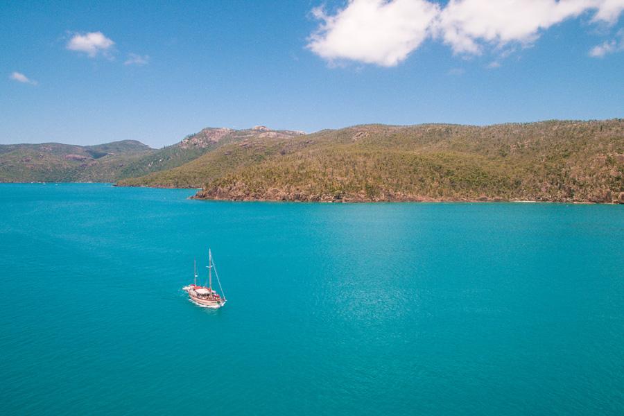 summertime, kayak, whitsunday islands,