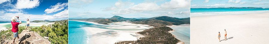 Perfect photo, Hill inlet, Deserted beaches