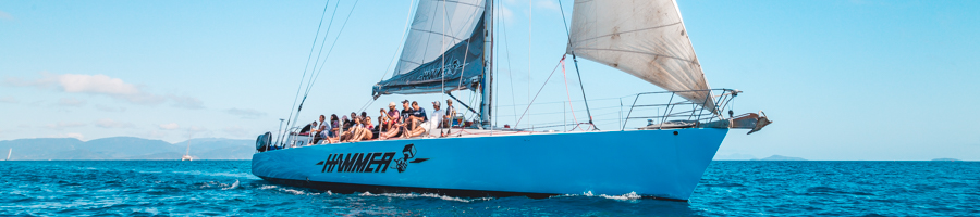 Hammer, Prosail, Sailing the Whitsundays