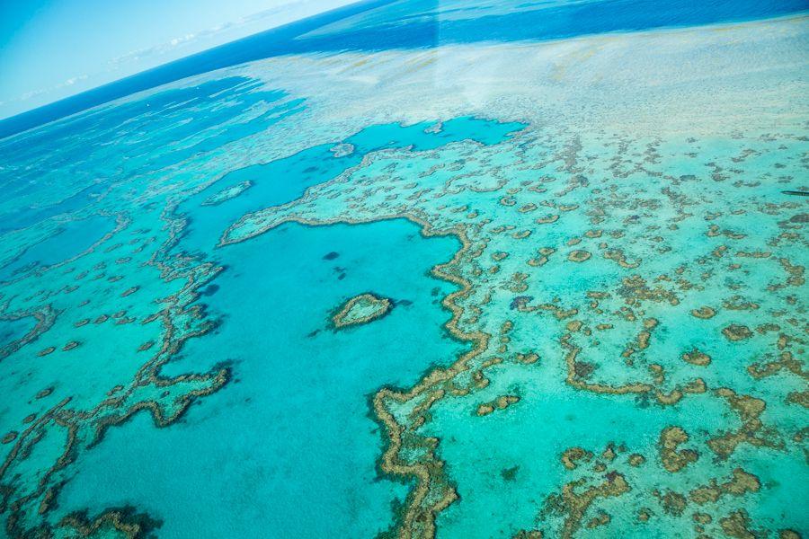 heart reef, scenic flight