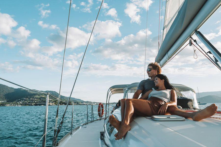 sailing, whitsundays, proposal