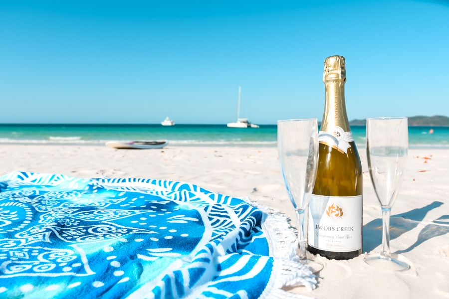 whitehaven beach, proposal
