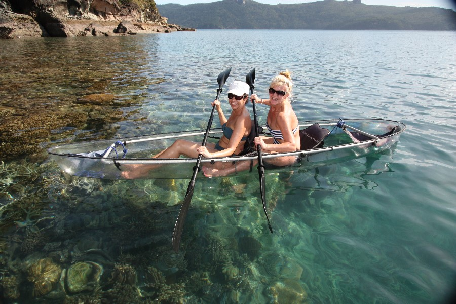 whitsunday sailing trips with watersports toys