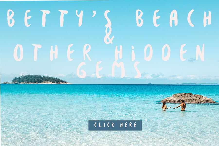 Betty's beach and other gems Whitsundays