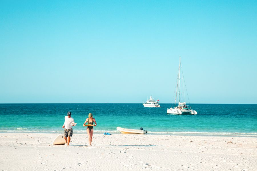Private Charters Whitsundays, Sit back and relax
