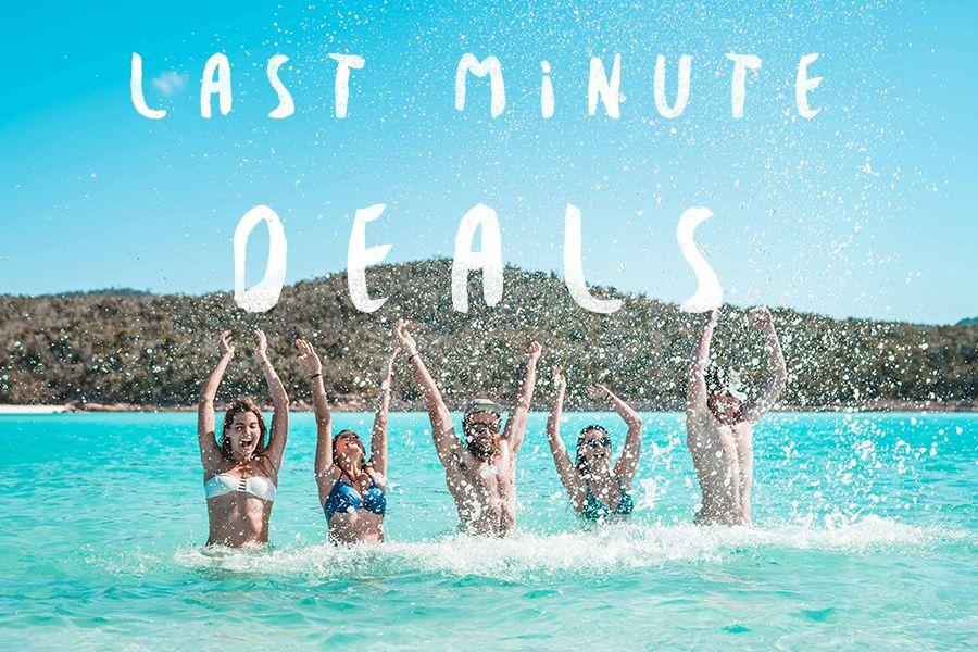 Last minute deals Whitsundays