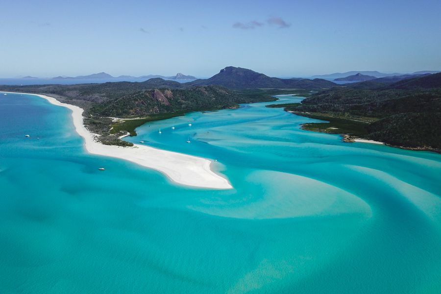 Whitehaven Beach From Above Whitsundays
