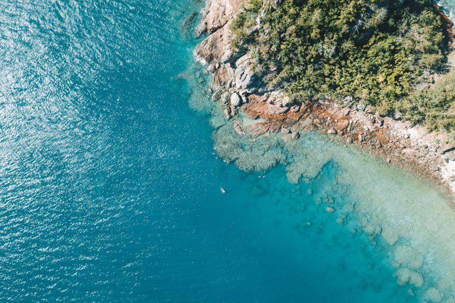 Fringing Reef Near Dumbell Island