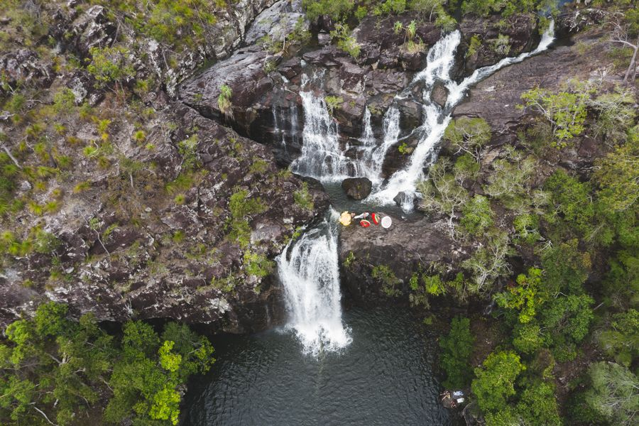 Cedar Creek Falls, hiking Whitsundays