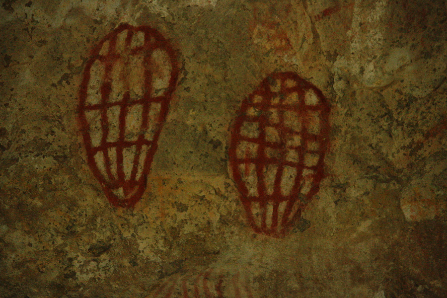 Ngaro Cave Paintings
