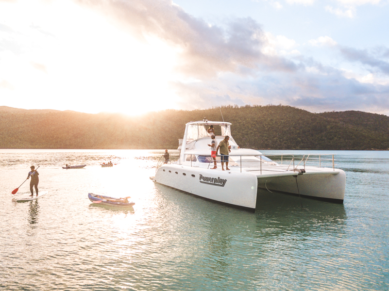 Sailing whitsundays powerplay, best overnight tour
