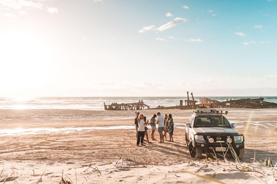 Vehicle Permits on Fraser Island