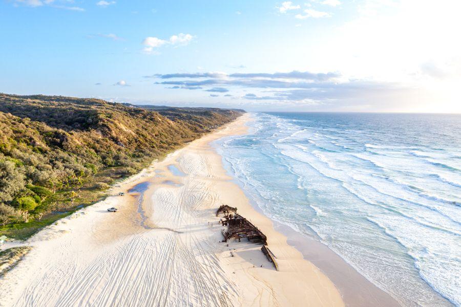 Maheno Wreck, Fraser Island, 75 Mile Beach