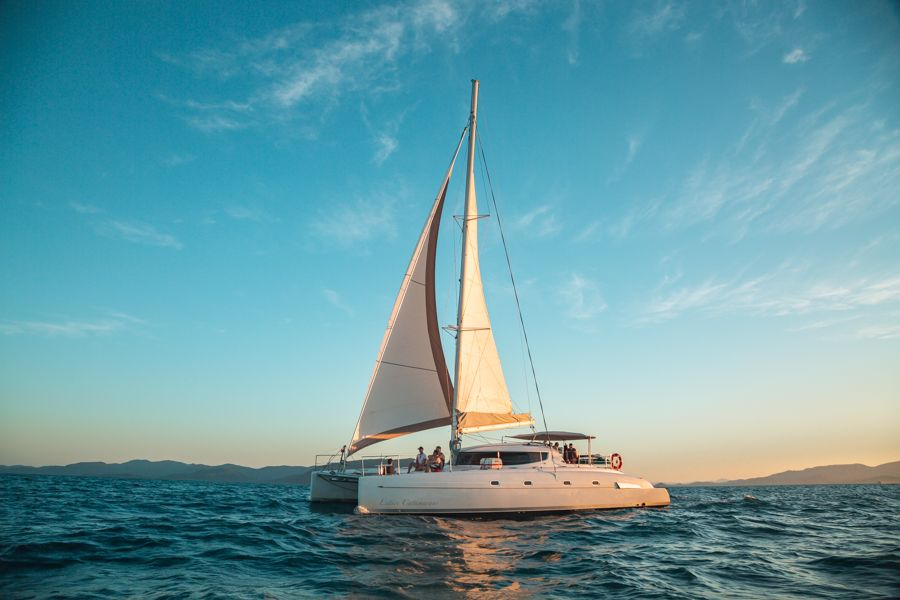 On ice, Entice, Sailing Whitsundays