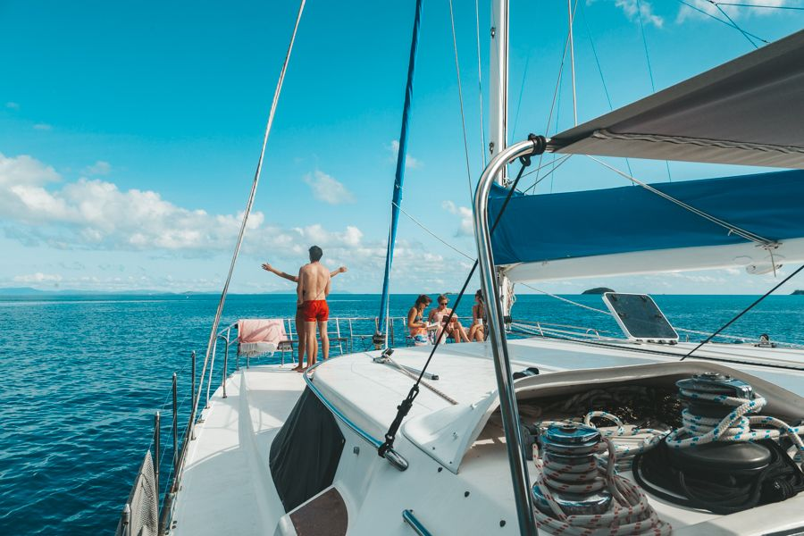 Adventurer, Sailing whitsundays