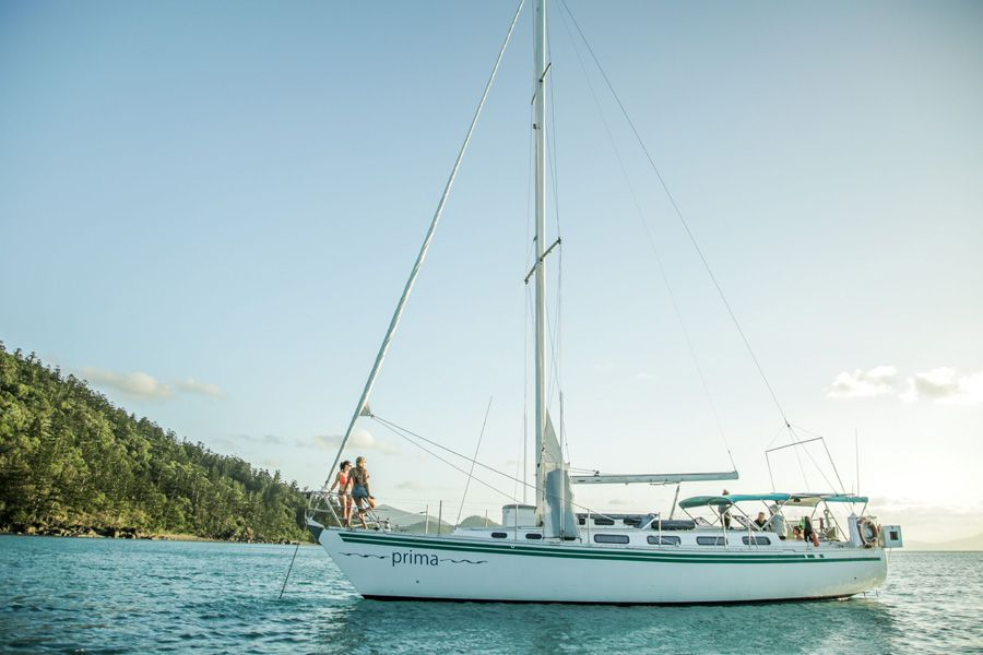 Prima, Sailing Whitsundays, Family Tours