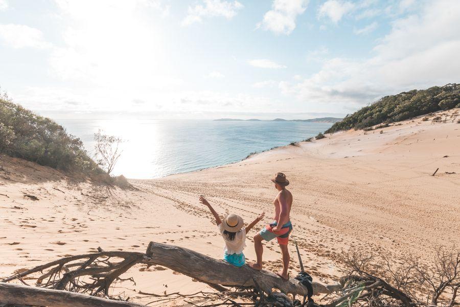 Carlo Sand Blow, Rainbow Beach, Queensland