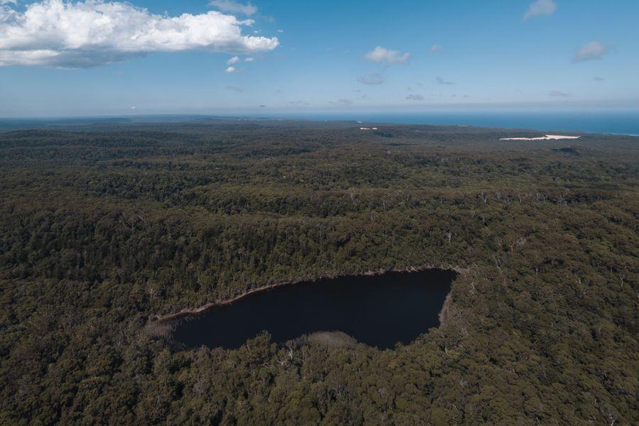 Lake Allom Fraser Island