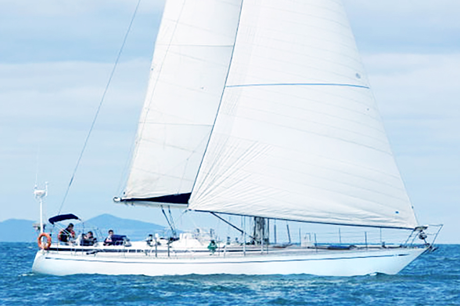 White Swan, New boat to the Whitsundays