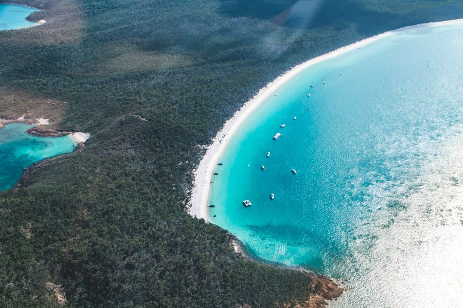 South Whitehaven Beach Whitsundays