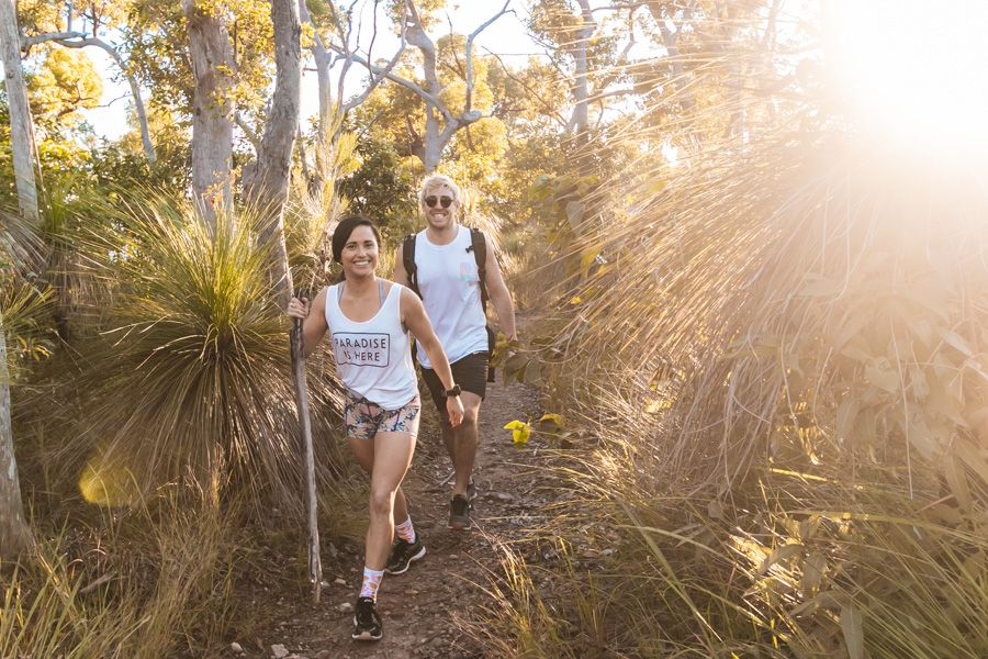 mount rooper walk, whitsundays