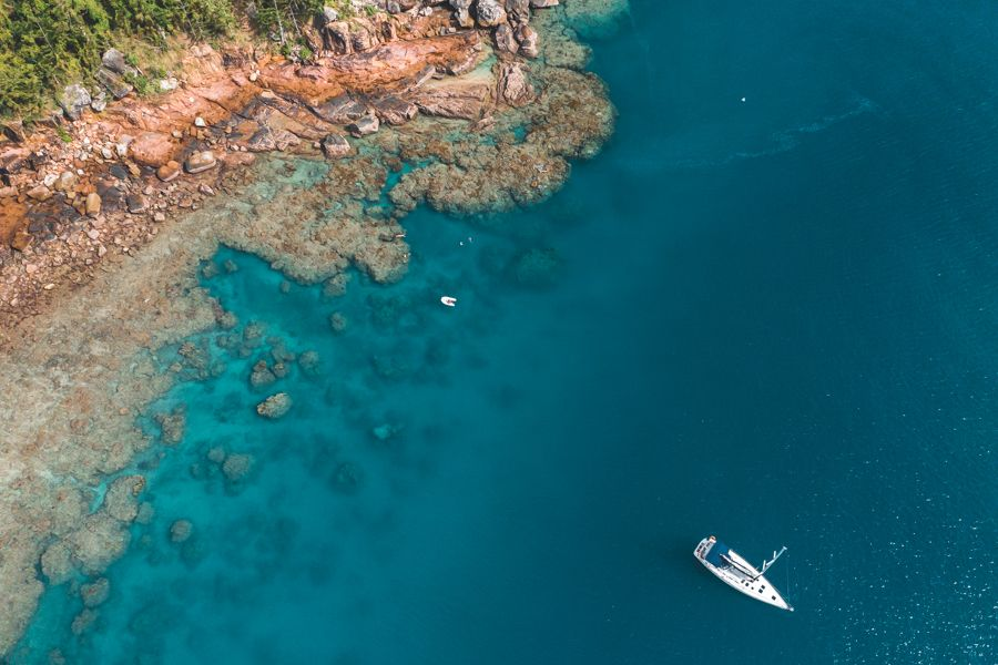 Reef on a Bareboat