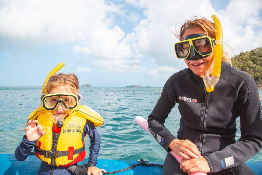 kids, snorkelling, whitsundays