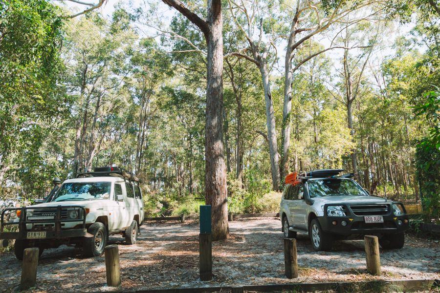 Fraser Island Parking