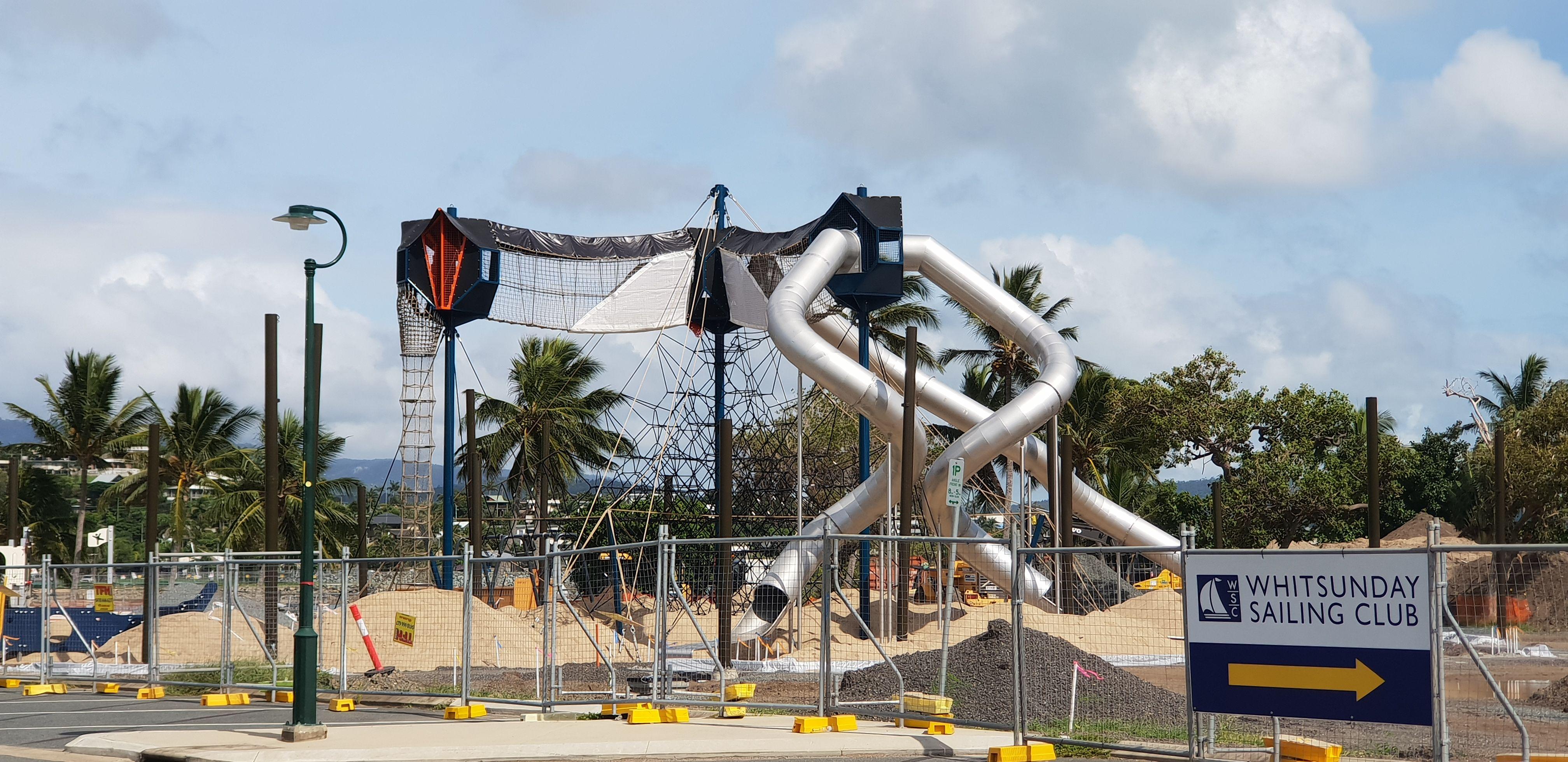 Playground Parking Airlie Beach