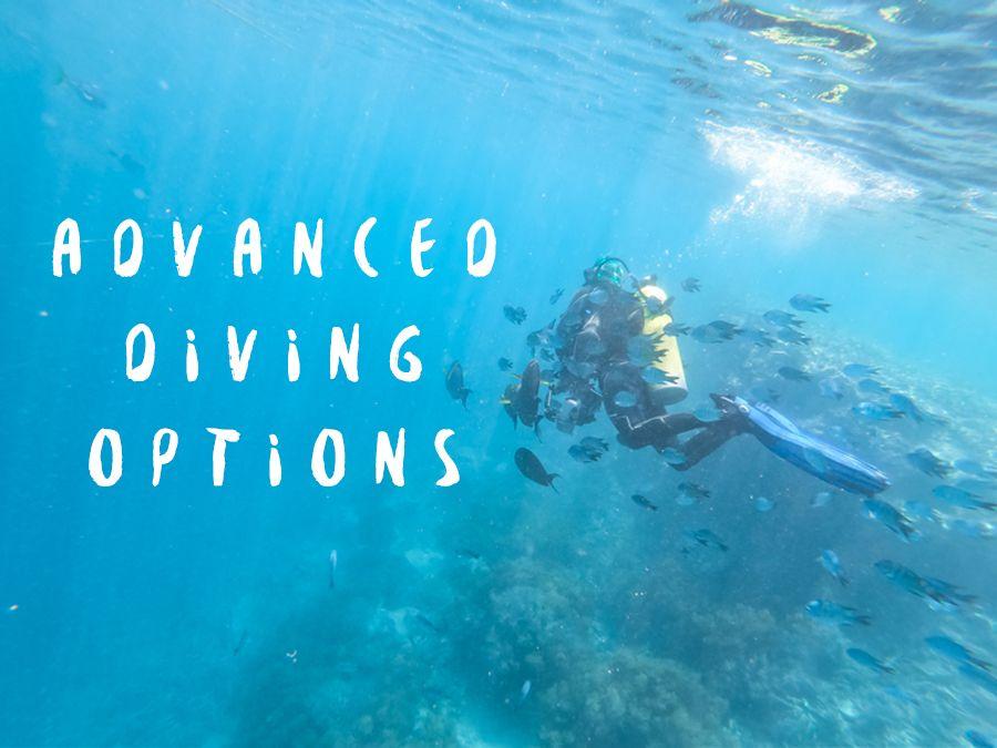 Advanced Diving Options