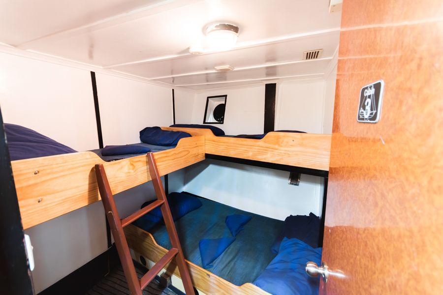 Air conditioned rooms Atlantic Clipper