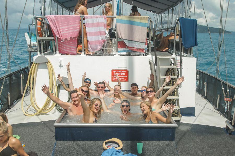 Front deck Spa Clipper